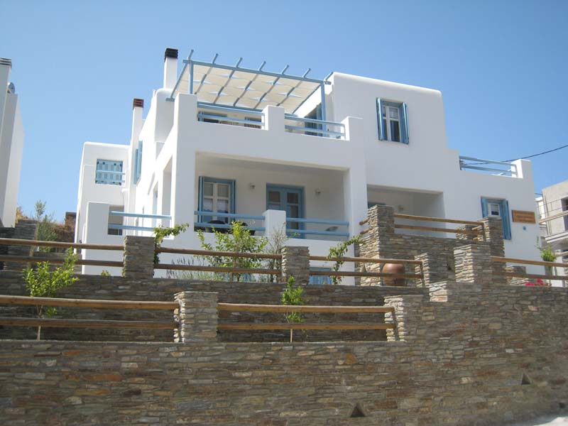 Andros apartments in Chora